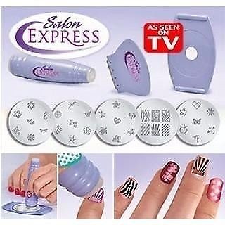 Salon Express Nail Art Stamping Kit