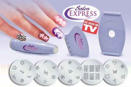 SALON EXPRESS - Nail Art Stamping Kit